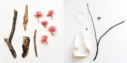 Images from Melissa Kaseman's 'Pocket Preschool Treasures' photo series.