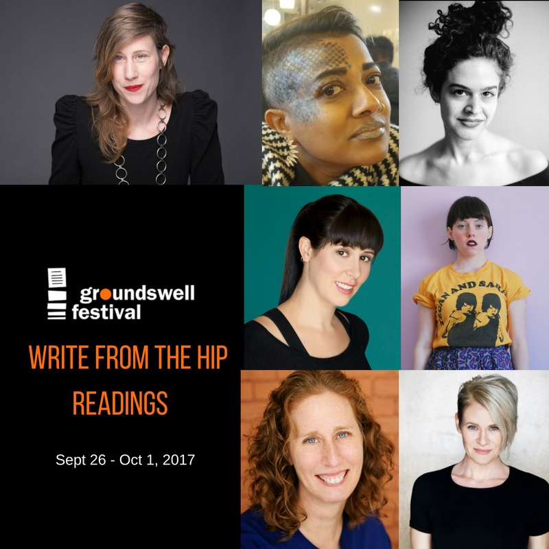 Q&A with our 2017 Groundswell: Write from the Hip playwrights