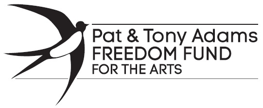 Pat and Tony Adams Freedom Fund logo.