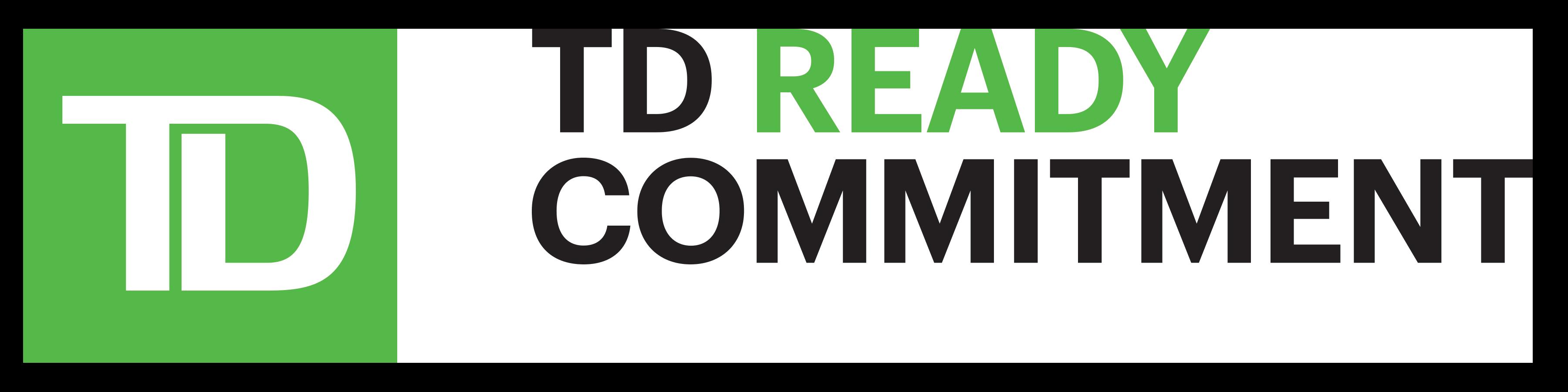 TD Ready Commitment logo.