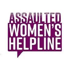 Assaulted Women's Helpline logo.