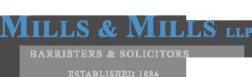 Mills & Mills LLP logo.
