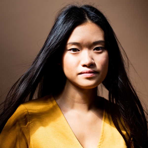 Studio headshot of Amanda Lin.